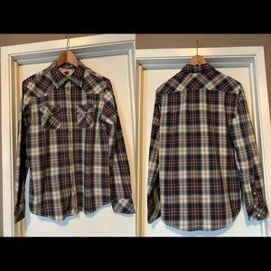 JACHS Men's Plaid Shirt